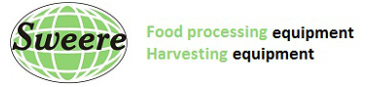 Food processing equipment & Harvesting equipment